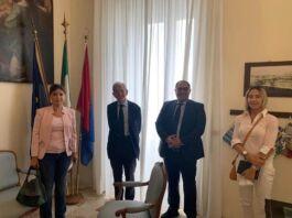 Taranto: incontro tra Melucci e Luciano Violante