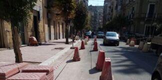Taranto: continuano i lavori in via Messapia
