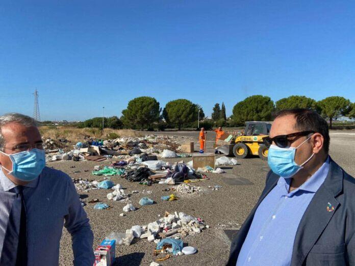 Taranto, Kyma Ambiente: pulizia in viale della Repubblica