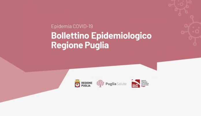 Bollettino epidemiologico covid coronavirus Puglia