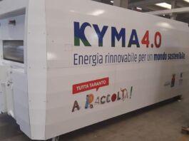 Kyma Ambiente nuovo compattatore fotovoltaico