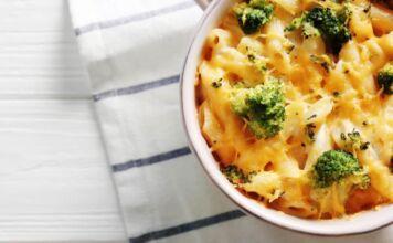 Pasta al forno broccoli besciamella