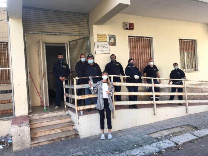 Taranto ristrutturazione Centro Anziani via Varano