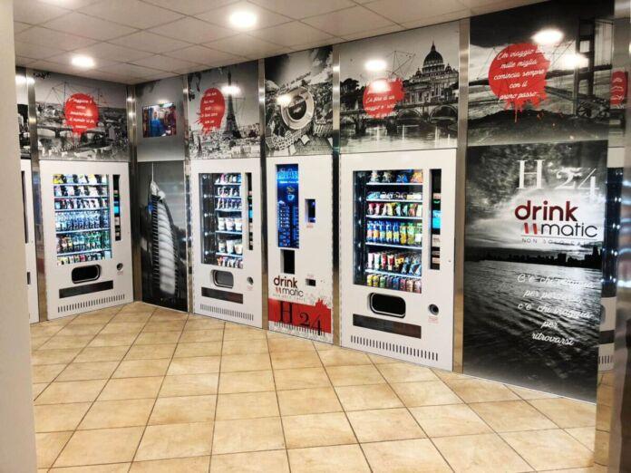 chiusura dei distributori automatici
