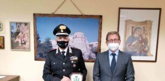 Il sindaco ha ricevuto il nuovo Comandante la Compagnia Carabinieri di Massafra