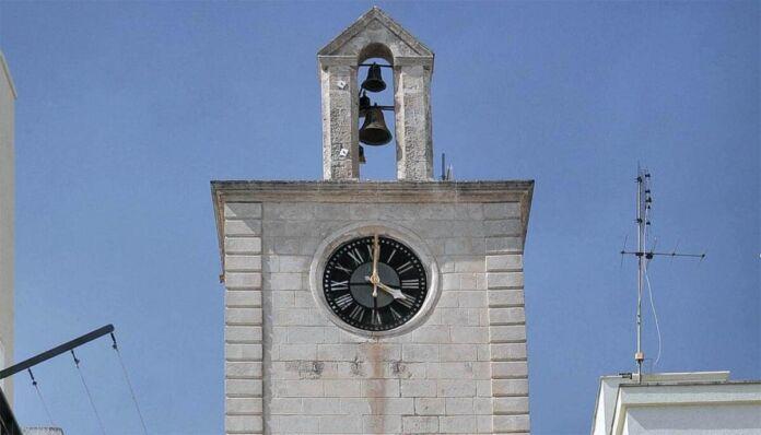 Palagianello: finanziamento Torre dell'Orologio