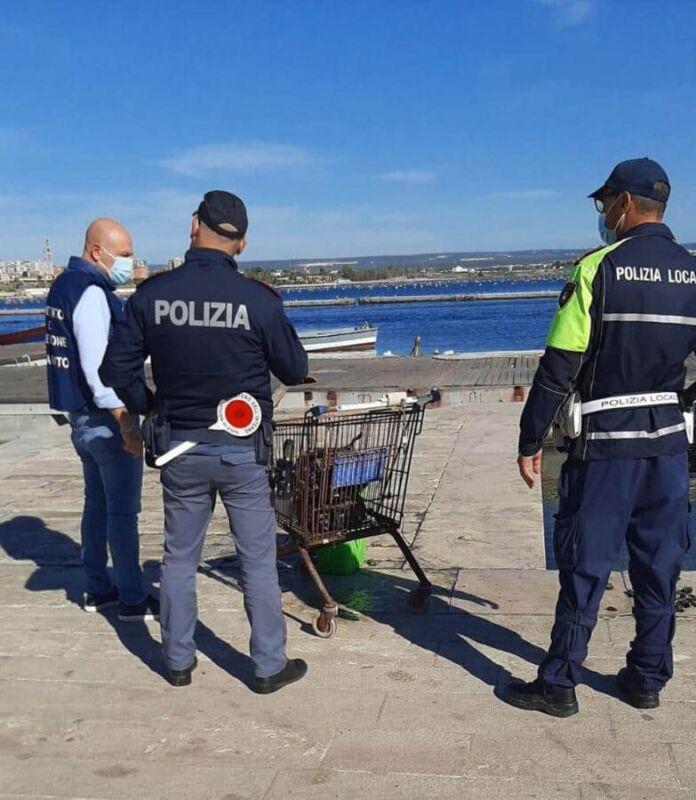 Taranto 60 kg di prodotti ittici non tracciabili sequestrati