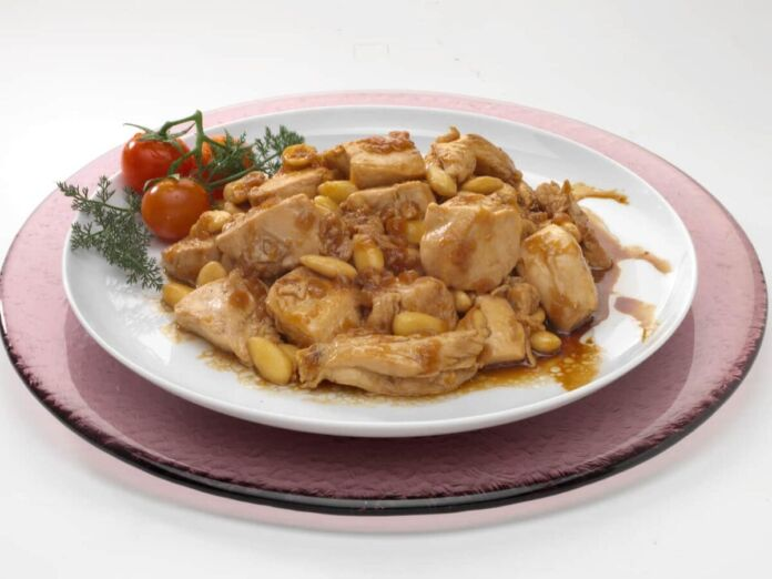 Pollo alle mardorle ricetta