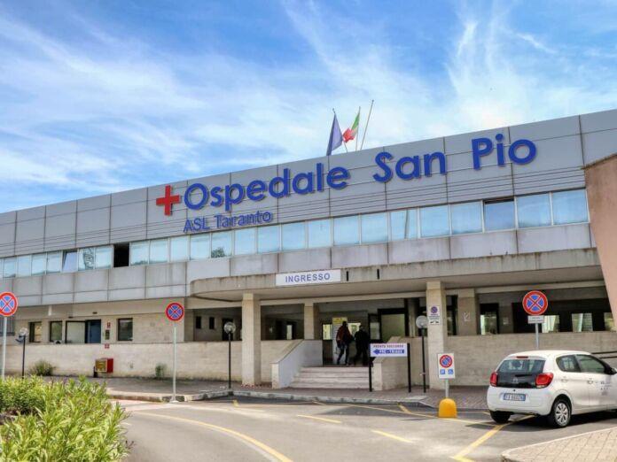Ospedale San Pio diventa presidio Covid