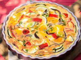 Ricetta Torta Salata alle melanzane