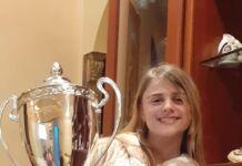 Desirée Zaccaro ed il trofeo Ballando con te