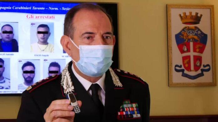 Spaccio di droga carcere Taranto 8 arresti 63 indagati