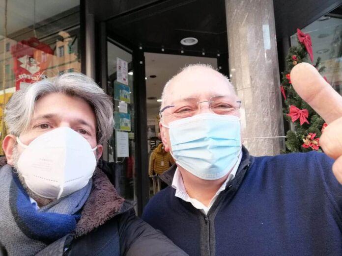 Manzulli incontra i commercianti di Taranto