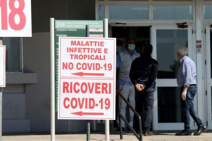 Ospedale Moscati di Taranto - Raparto covid-19