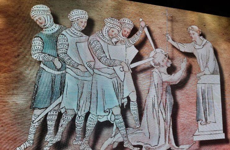 San Thomas Becket Mottola