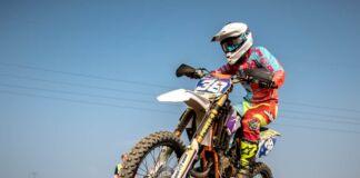 scoperta pista abusiva di motocross
