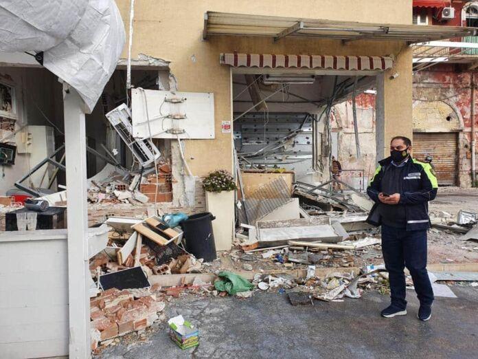 Esplosione bar e autolavaggio, la solidarietà del sindaco Melucci