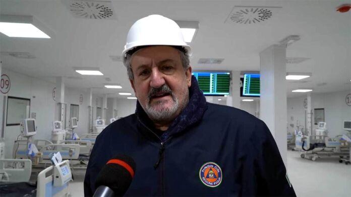 Fiera del levante - Bari - reparto covid - Emiliano