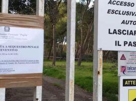 Pulsano: sequestrato parcheggio per violazioni