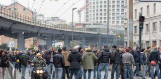 Taranto USB integrazione salariale Ex Ilva protesta 25 gennaio