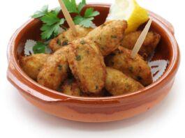 crocchette di patate e baccala