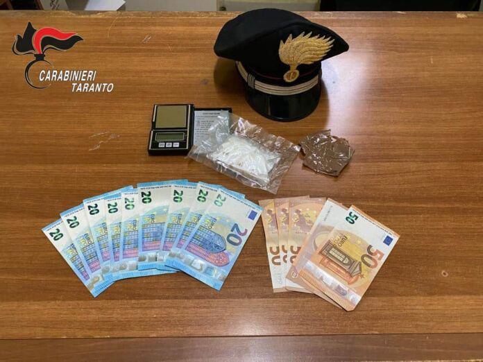 spaccio di cocaina a Taranto