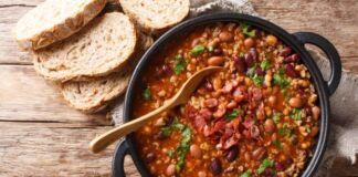 Ricetta zuppa di fagioli e pancetta