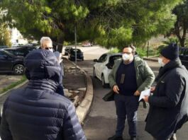 Taranto sopralluogo per alberi pericolosi in Viale Pirro