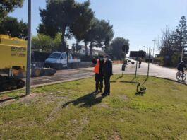 Via Mediterraneo lavori al via, col sopralluogo di Melucci