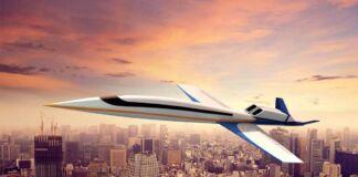 Presentato il nuovo jet supersonico