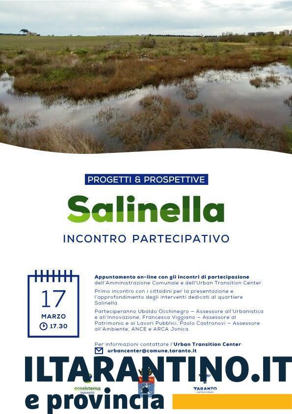 UTC per il quartiere Salinella