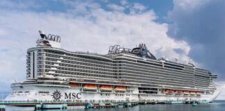 MSC Seaside arriva a Taranto