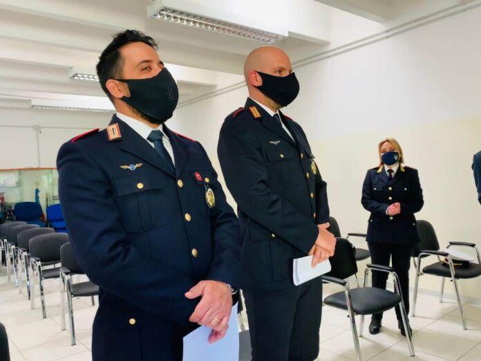 Taranto: encomio speciale per due agenti che sventarono un suicidio