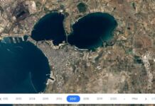 google earth timelapse taranto