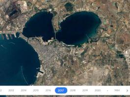 google earth timelapse taranto