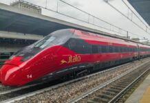 Treno Italo arriva a Foggia