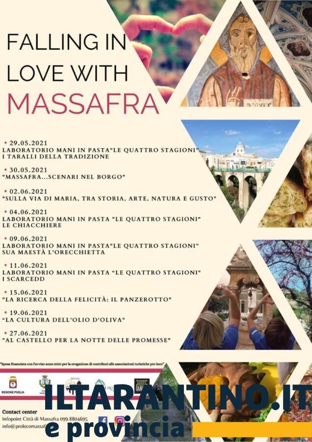 Locandina Falling in love with Massafra