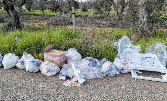 Manduria: 30 fototrappole contro abbandono dei rifiuti