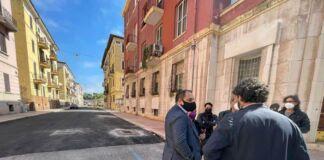 Nuovo asfalto in via Pacoret e Via Nazario Sauro a Taranto