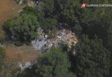 discarica abusiva di rifiuti pericolosi a Paolo VI