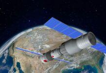 frammenti del razzo cinese in Puglia