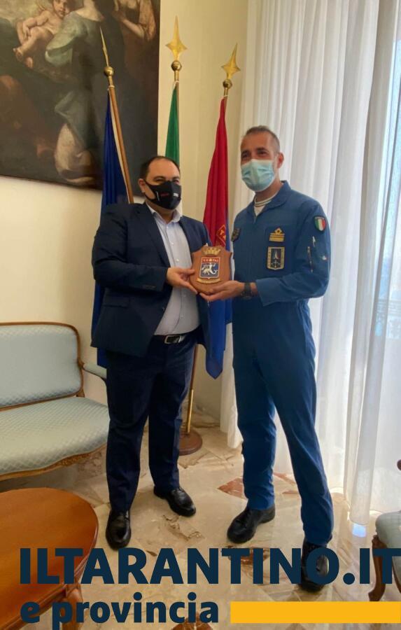 Melucci incontra rappresentanti Accademia Aeronautica