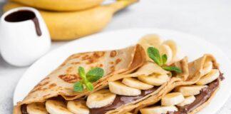 Ricetta Crepes alla Nutella e banane