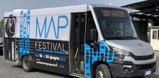 MAP Festival autobus Kyma Mobilità