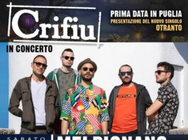 Crifiu concerto a Melpignano sabato 10 luglio