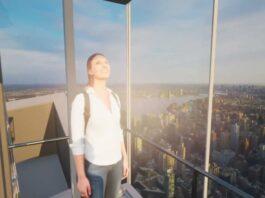 L'ascensore trasparente Ascent sarà alto 368 metri e verrà costruito nell'edificio One Vanderbilt