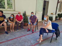 Taranto: Gabriella Ficocelli incontra i senza fissa dimora