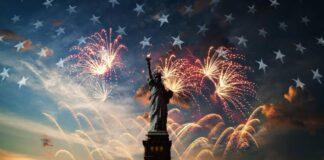 independence day New York fuochi artificio