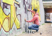Street artist Palagianello
