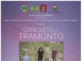 Lions Club Castellaneta concerto al tramonto